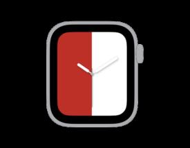 【ご自由にお使いください】Apple Watch カスタマイズ文字盤 フェイエノールト風デザインをシェア!