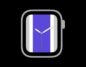 【ダウンロード自由!】Apple Watch カスタマイズ文字盤 サクラメント キングス風デザインをシェア!