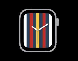 【ダウンロード自由!】Apple Watch カスタマイズ文字盤 ニューオリンズ ペリカンズ風デザインをシェア!