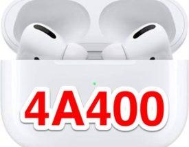 5ヶ月1週間ぶりのアップデート!AirPods Proファームウェア【4A400】が来た!